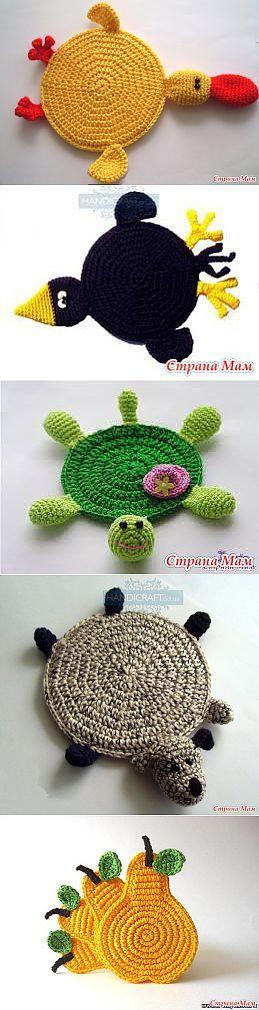 Милые сувениры! Свежая идея для подарков. | вязание | Постила
