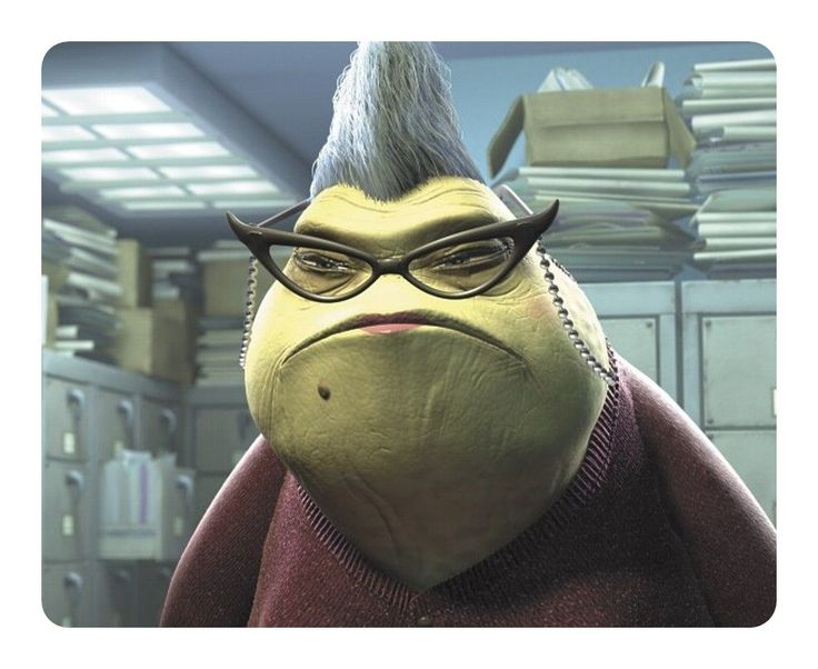 Very Nice Disney Mouse Pad Disney Mosters Inc ROZ