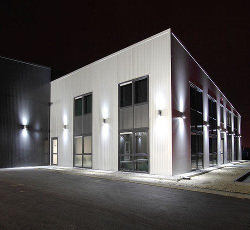New Wandlampe Wandleuchte Wandstrahler Au enleuchte GP Gartenfassung IP mit X LED