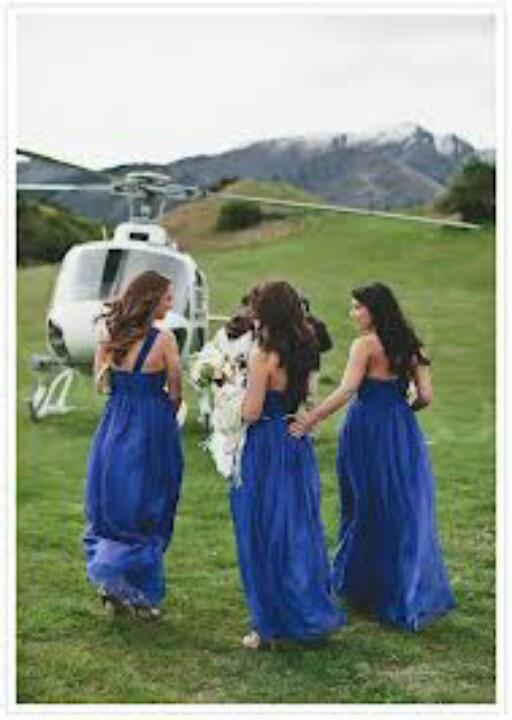 Run away bridesmaids...