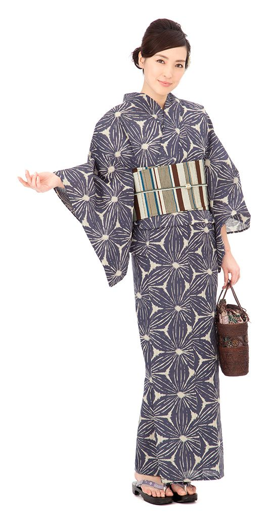 【特選浴衣】小袋帯3点set 24-OB14-HG605set | 浴衣屋さん.com 19,500 円