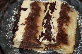 """""""Przepis załatwił mi mąż, który kiedyś jadł to ciasto. Ale jako, że nie zapytał autorki o nazwę, z uwagi na sporą ilość alkoholu, nazwa..."""