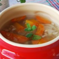 Sopa de Cevada e Vegetais doces