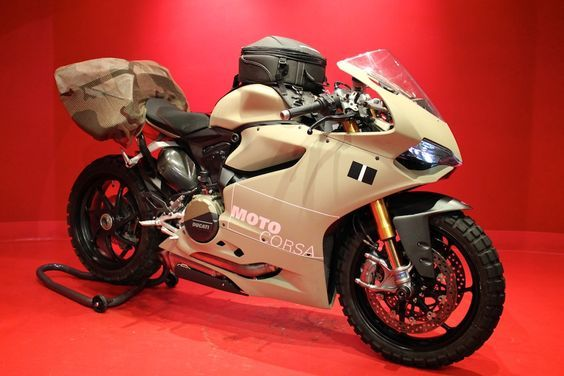 An Oregon-based Ducati dealer has converted the Panigale for offroad. Genius or insanity?