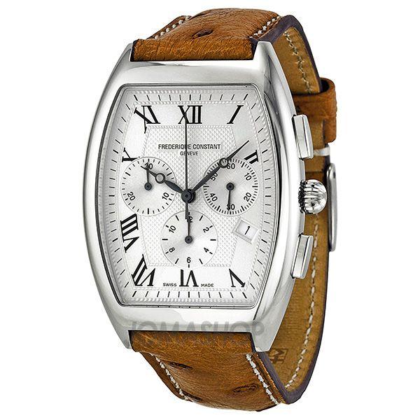 Frederique Constant Art Deco Chronograph Silver Dial Mens Watch 292M4T26OS $796.25
