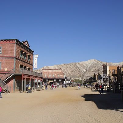 Wild West village at Oasys Park - Mini Hollywood - Tabernas - Almeria