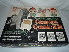 VINTAGE POLAROID LAND CAMERA LIFE OF THE PARTY CAMERA COMIC KIT