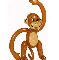 Party Time Celebrations  - Cheeky Monkey Party Monkey Inflatable Monkey, $9.95 (http://www.partytimecelebrations.com.au/cheeky-monkey-party-monkey-inflatable-monkey/)