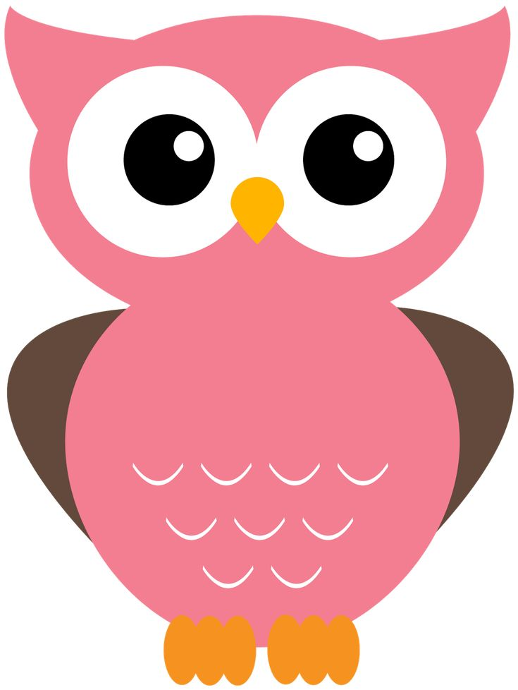 123 best owl clipart images on pinterest snood owls and owl rh pinterest com pink owl clip art free pink owl on branch clip art