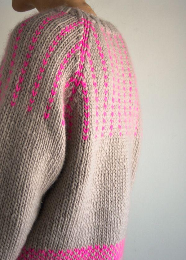 Laura's Loop: The Purl Soho Friendly Fair Isle Sweater | The Purl Bee