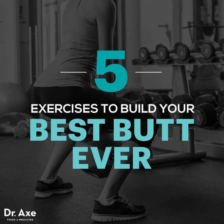 Butt workouts - Dr. Axe http://www.draxe.com #health #Holistic #natural
