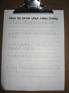 motivate your student to write by making fun and funny LISTS :) (list making ideas included) *DAILY 5 WRITING!*