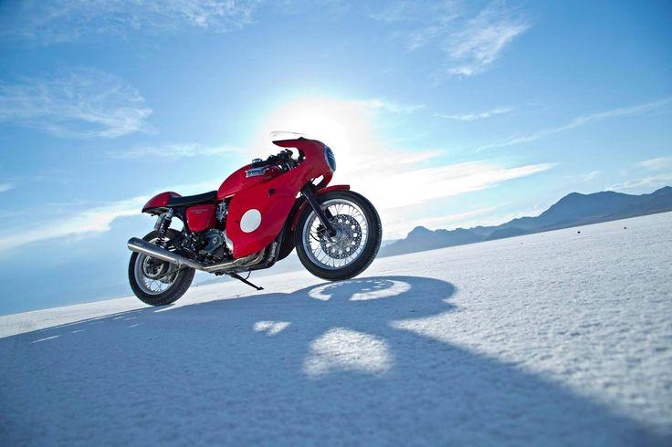 Dave Rosen's Triumph Thruxton (via Triumph Motorcycles)