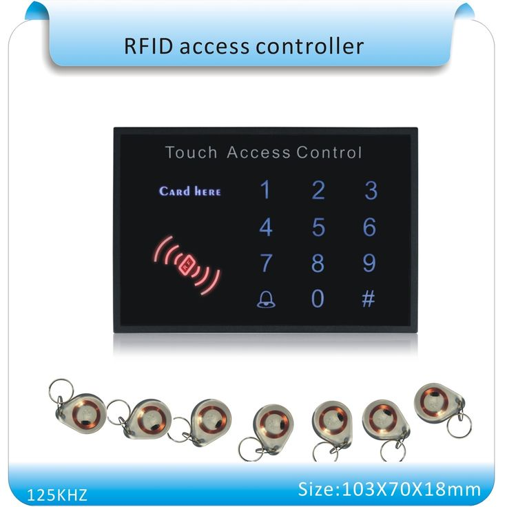 24.69$  Watch now - http://alito8.shopchina.info/1/go.php?t=32616384341 - Free shipping acrylic waterproof panel Security password&RFID Proximity Entry Door Lock Access Control System+10 crystal keyfobs 24.69$ #bestbuy