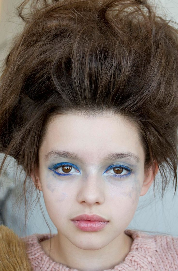 Fatima Ptacek modelling crazy make up, the movie Curfew in ...