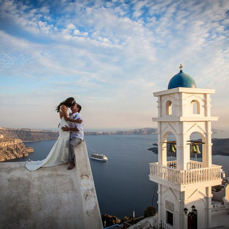 wedding at Santorini