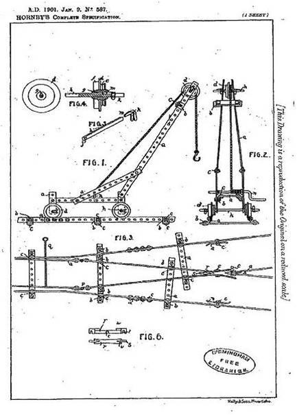 "1901 : Franck Hornby invented a new educational toy called ""Mechanics Made Easy"" / En 1901 Franck Hornby finalise un systeme ludique et éducatif qu'il baptise ""Mechanics Made Easy"" !"