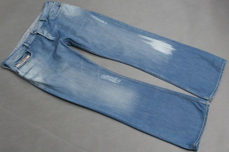 DIESEL ZATHAN JEANS HOSEJEANS W34 L32  0084R 84R BOOTCUT MADE IN ITALY