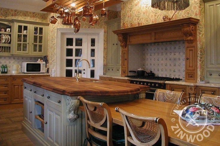 Эксклюзивные элитные кухни на заказ по любым проектам в Москве