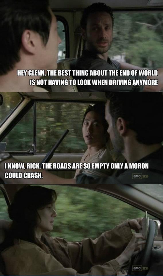 Funny, lol. The Walking Dead. @Dana Bijansky