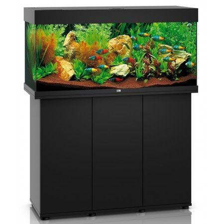 Juwel Rio 180 Aquarium and Cabinet Black