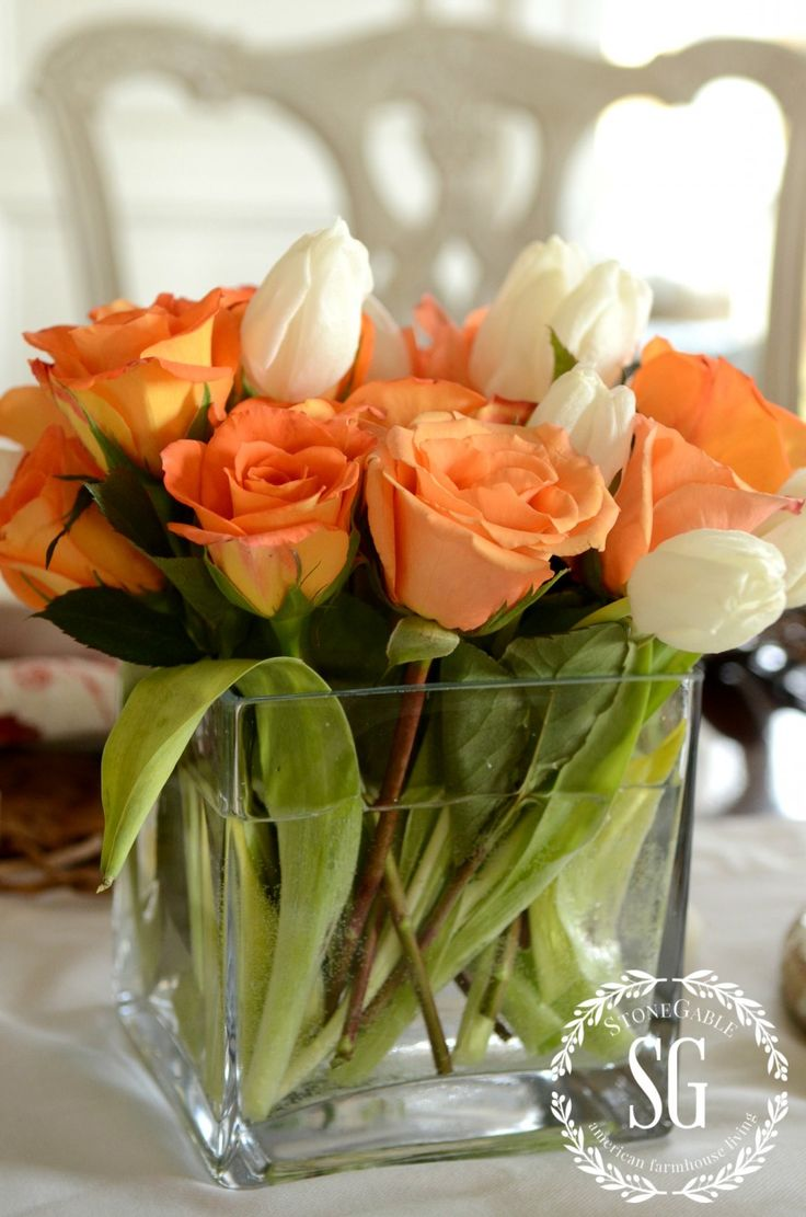 Images about cube or square vase flower centerpieces