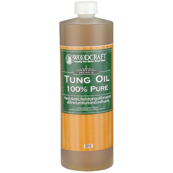 how to polish tung oil finish