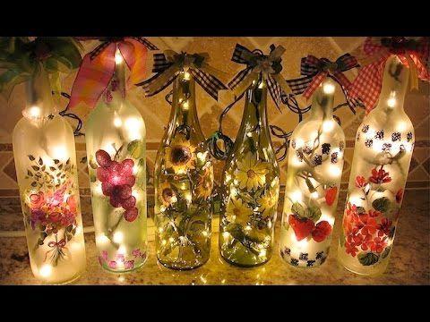 Decoraci n con botellas reciclaje de botellas usadas - Decoracion con reciclaje ...