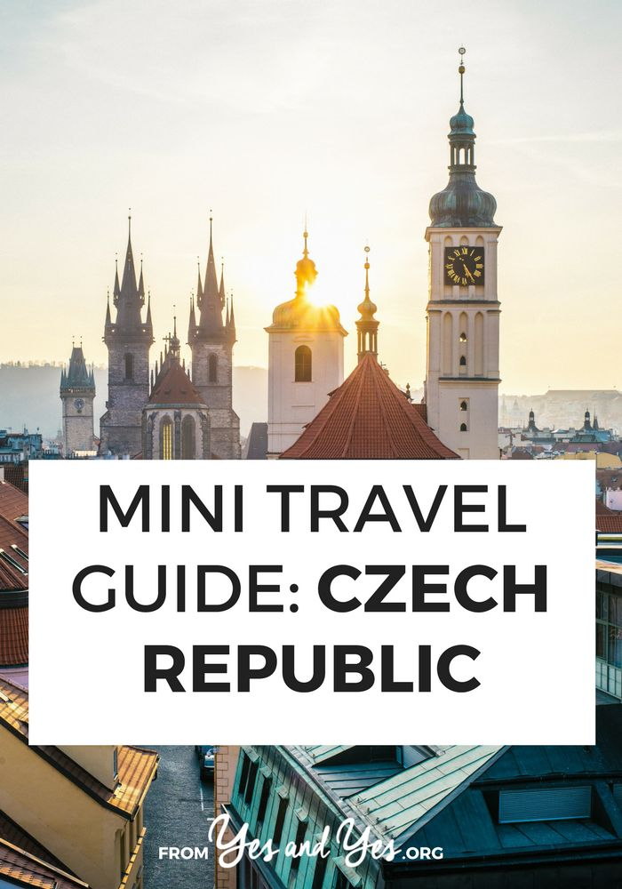 Looking for a travel guide to the Czech Republic? Click through for from-a-local Czech travel tips on what to do, where to go, what to eat, and how to travel cheaply!
