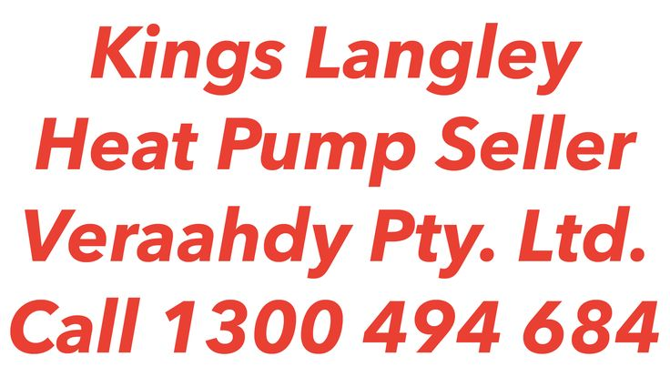 Heat Pumps Kings Langley