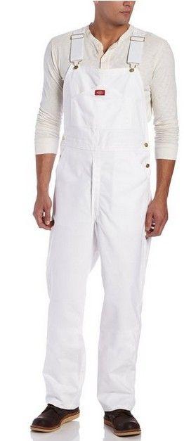 salopette dickies jean blanc