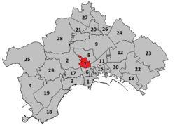 Mappa dei quartieri : Avvocata è un quartiere facente parte della seconda municipalità del comune diNapoliinsieme ai quartieriMontecalvario,Mercato,Pendino,Porto,San Giuseppe.  Confina a nord, nord-ovest e nord-est con i quartieriArenella(via Matteo Renato Imbriani) eStella(via Fontanelle), a sud con i quartieriMontecalvarioeSan Giuseppe(piazza Dante) e a est con il quartiereSan Lorenzo(via Pessina).  È attraversato nella sua lunghezza da viaSalvator Rosache è il maggior…