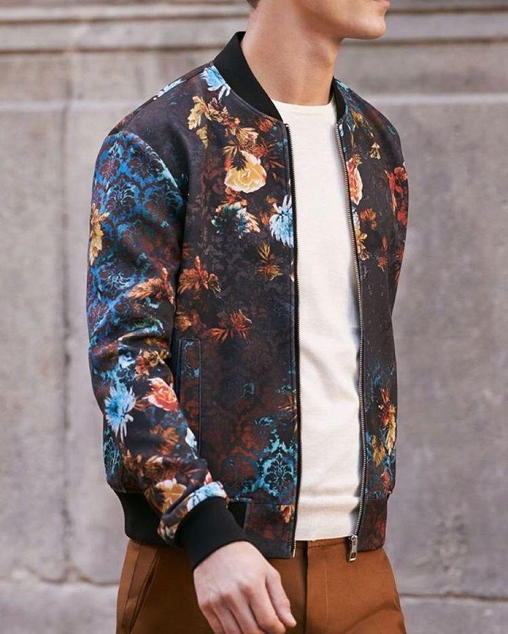 @zara #floral bomber jacket  [ http://ift.tt/1f8LY65 ] #zara