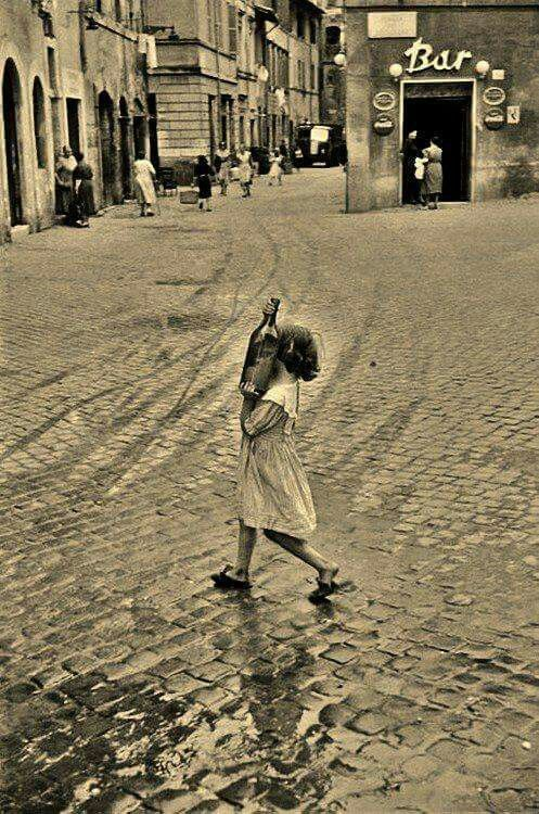 Piazza dei Ponziani  1953