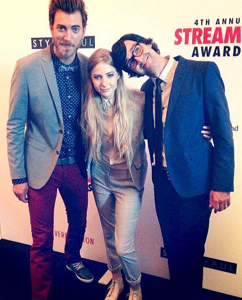 Rhett, Link, and... Stevie!