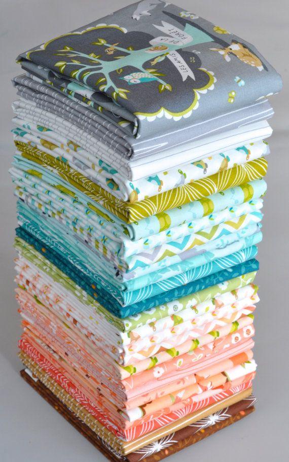 Les Amis 26 Fat Quarter Bundle by Patty Sloniger for Michael Miller Complete via Etsy