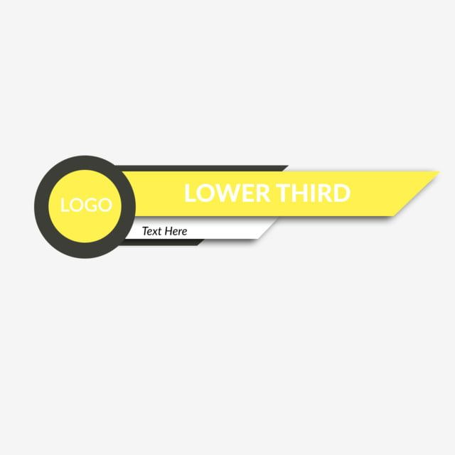 New Best Lower Third Template Logo Download 2019 Download Icons New Icons Logo Icons Png Transparent Clipart Image And Psd File For Free Download Lower Thirds Template Logo Powerpoint Background Design