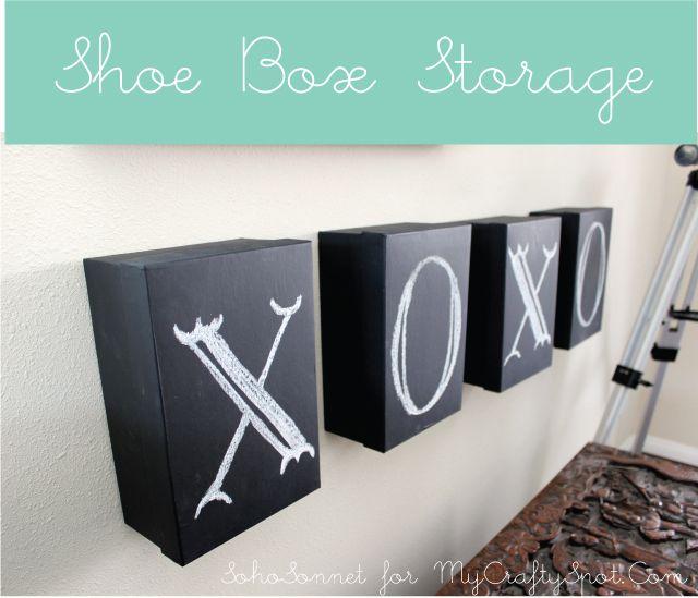Memory Box Storage Idea + Artwork  - SohoSonnet Creative Living