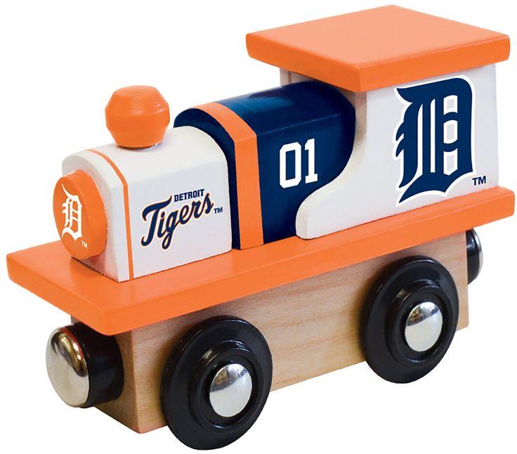 MLB Detroit Tigers - Wood Train