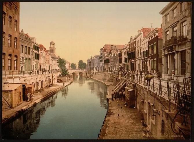 Utrecht 100 jaar geleden