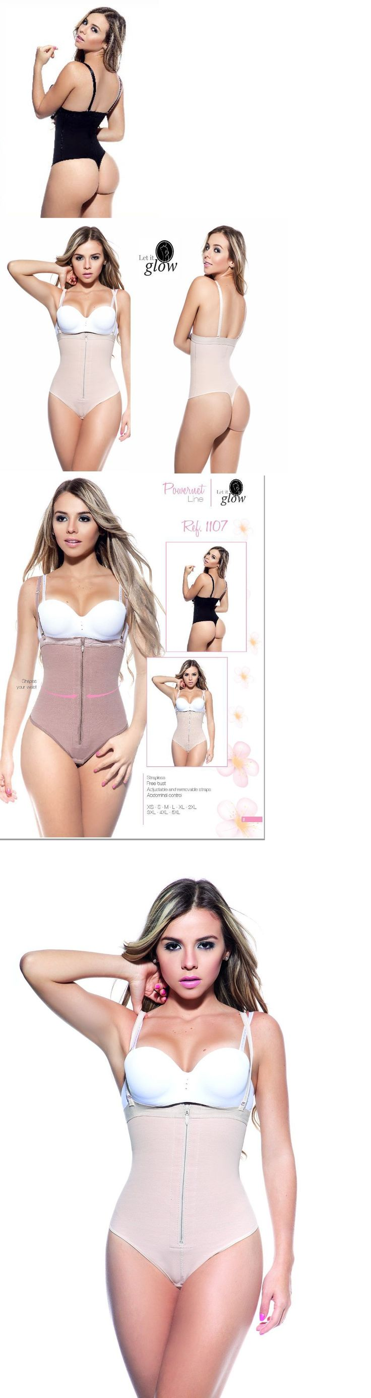 Women Shapewear: Fajas Reductoras Full Body Shaper Thong Fajas Shapewear Colombianas -> BUY IT NOW ONLY: $52 on eBay!
