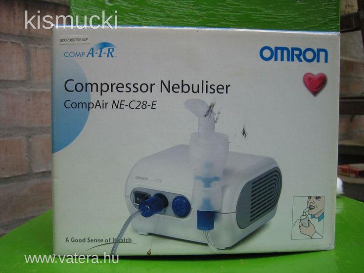 OMRON NE-C28-E kompresszoros inhalátor - Vatera.hu