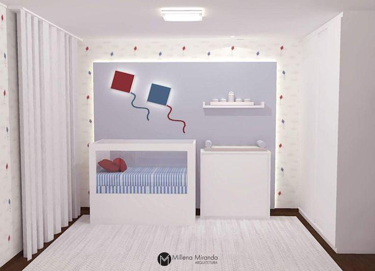 Projeto de  Millena Miranda Arquitetura para Salvatore, filho de Antonia Fontenelle