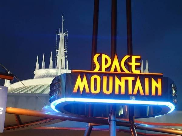 """Space Mountain"" 