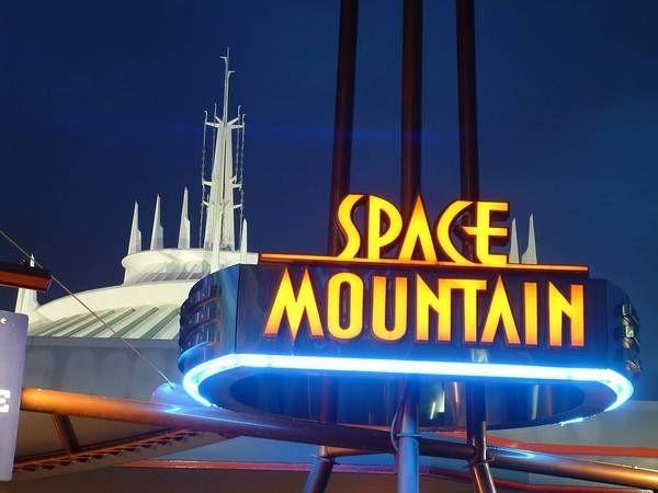 """Space Mountain"" | 10 Disneyland Rides That Should Be TVShows    Funny, I thought the WWE already had made a Ric Flair DVD! ;) Whooooooooooo!"