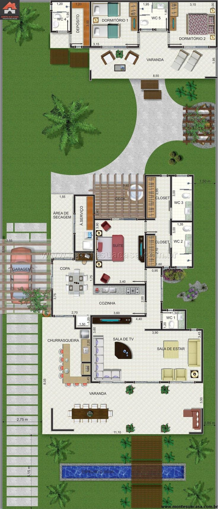 Casa 0 Quartos - 104.6m²