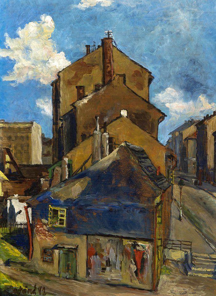 Naděžda Papoušková Melniková - Na okraji města (1942)