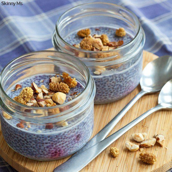 Our Blueberry Chia Seed Pudding is that something different you're looking for. The nutritional power of chia seeds is amazing! #chiaseedpudding #superfoods