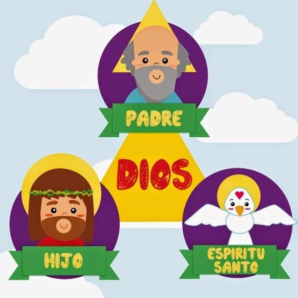 Resultado de imagen para imagenes de la santisima trinidad para niños
