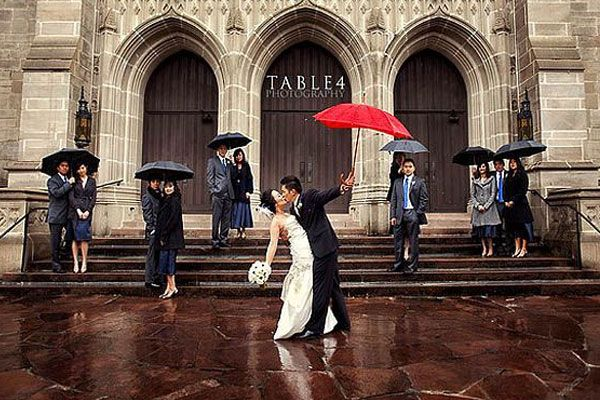 Singing in the Rain: How to Embrace a Rainy Wedding Day - The Details - Weddingstar Blog